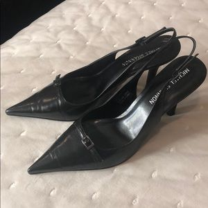 Michael Shannon low pointed heels